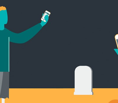 Death is no longer the end... The digital afterlife.